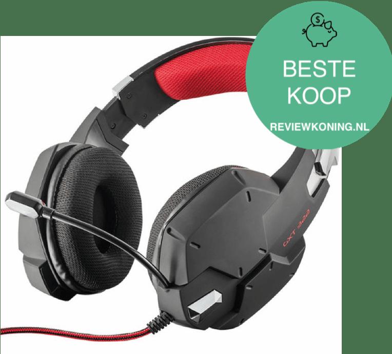 Trust GXT 322 Carus Beste gaming headset - Beste koop